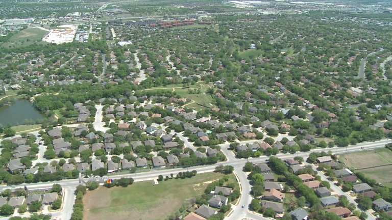 Houses, home, Austin from above_80121