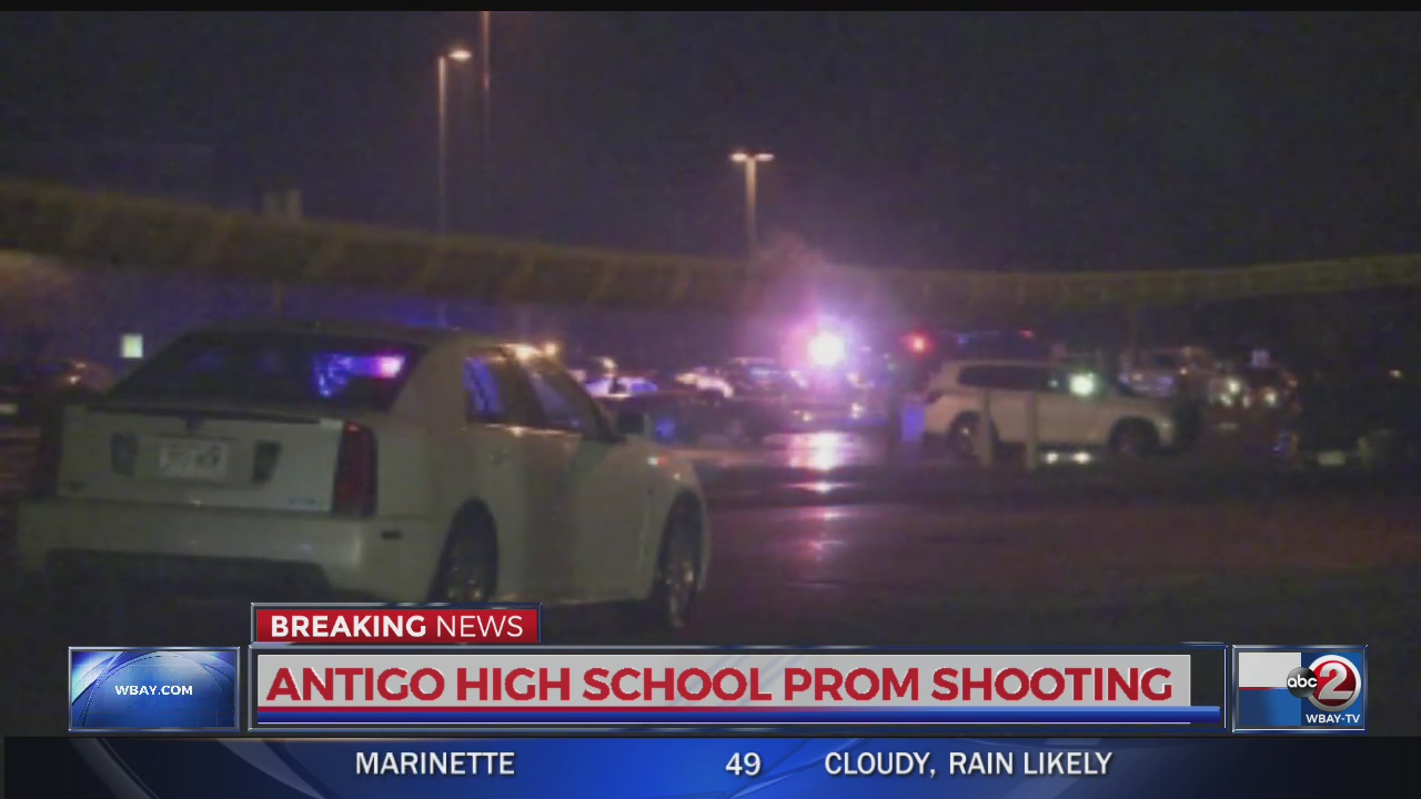 Two injured, shooter dead after Wisconsin prom shooting
