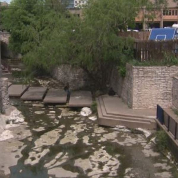 Waller Creek in downtown_269202