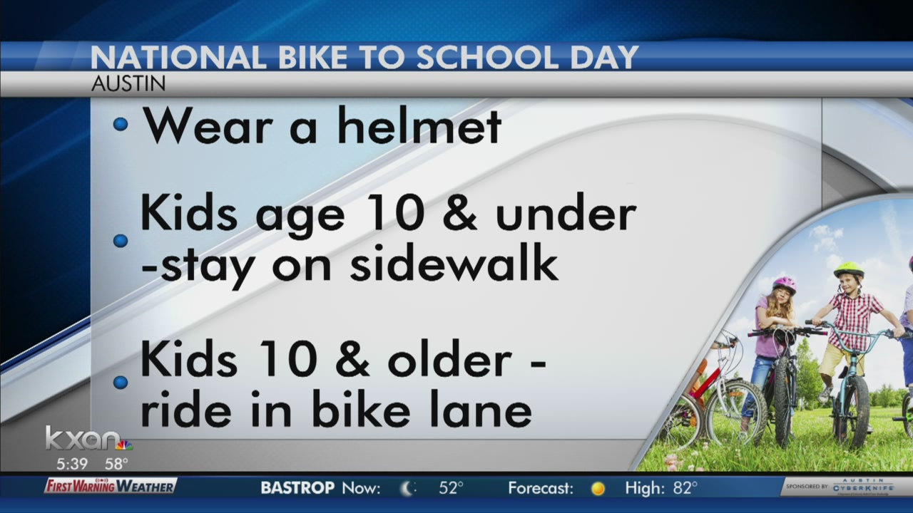City is encouraging students to bike to school