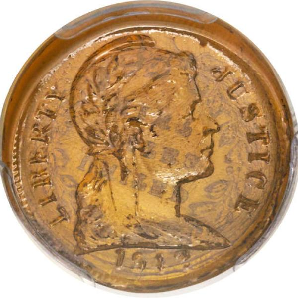 Glass Penny Auctioned_396577