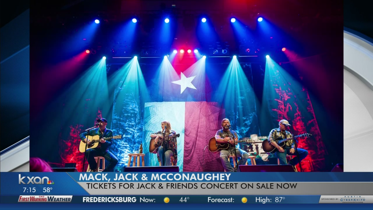 Jack Ingram helping raise money for Central Texas kids