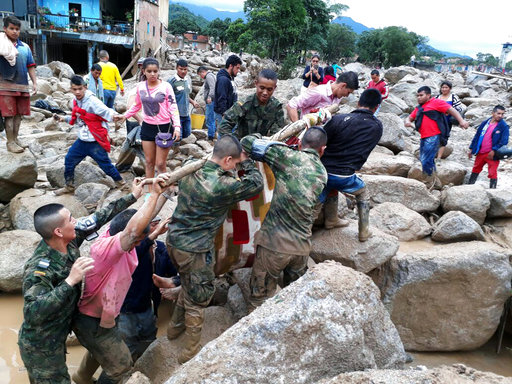 Colombia Deadly River Overflow_446802