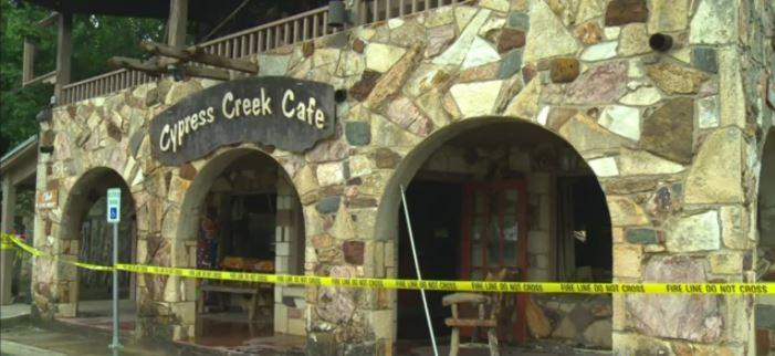 Cypress Creek Cafe after fire (KXAN photo)_480919