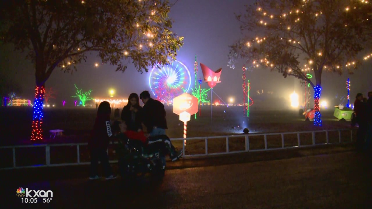 Trail of Lights forced to cancel two nights due to rain
