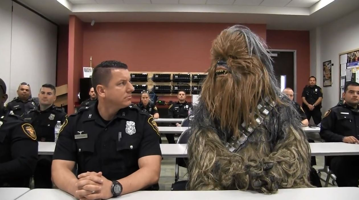 chewbacca fort worth police_590320