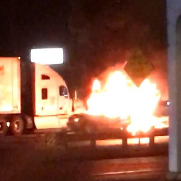 i-35 fatal semi and fire_608570