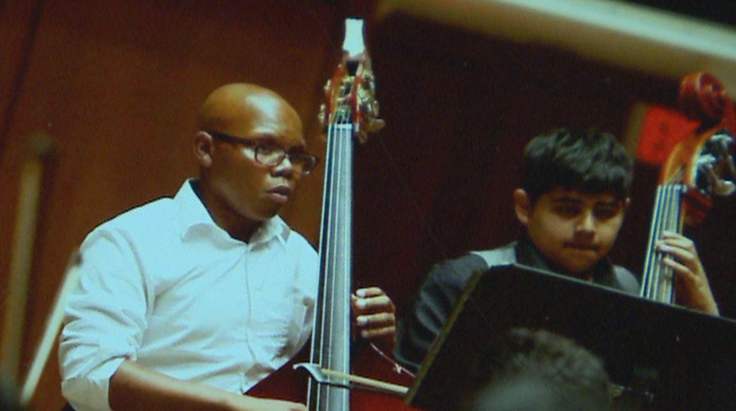 Draylen Mason, First Chair Bassist