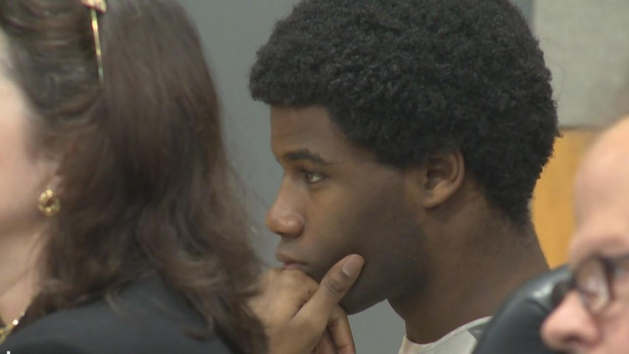 Meechaiel Criner in court on June 18, 2018