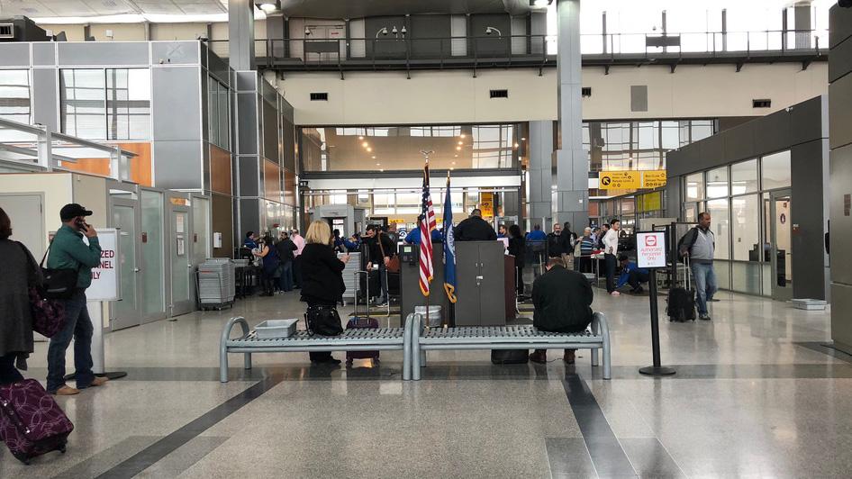 FILE - Austin airport ABIA