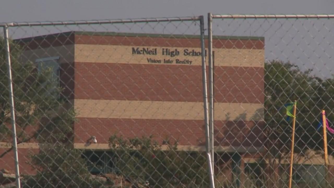McNeil High School construction_545183