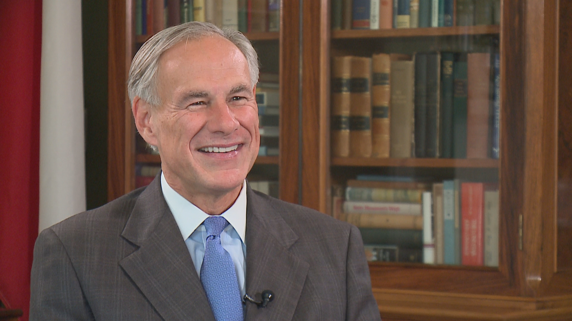 Greg Abbott interview