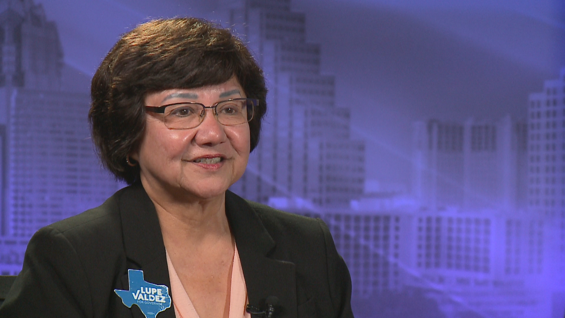 Lupe Valdez interview