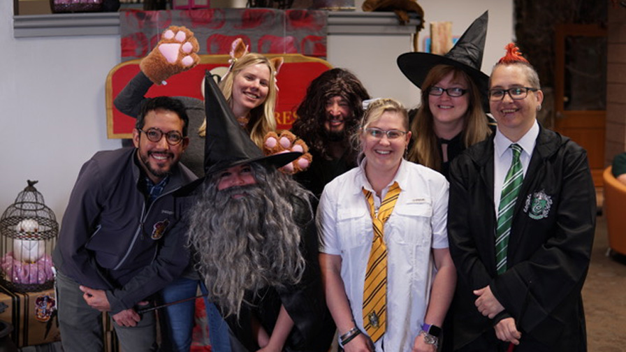 We are blood harry potter group