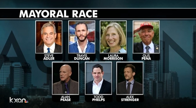 Austin mayoral race candidates