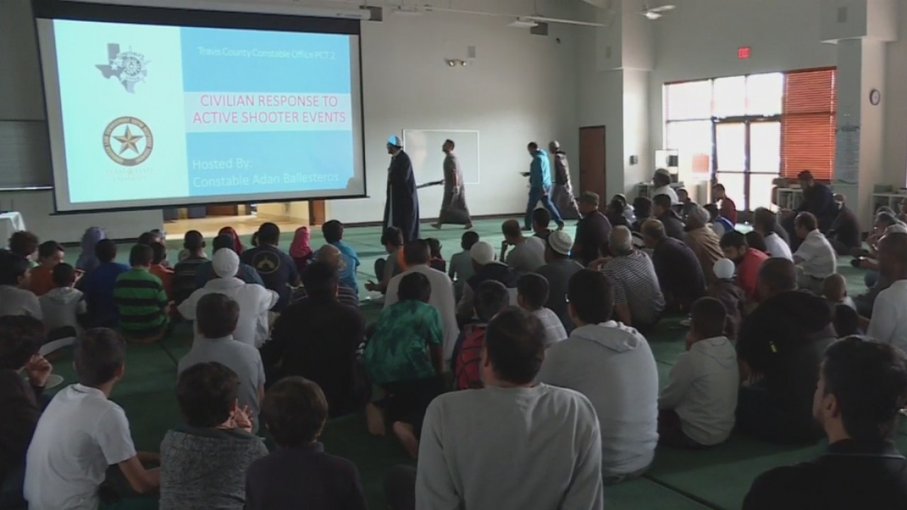 Planning for the worst—active shooter training held at Austin mosque