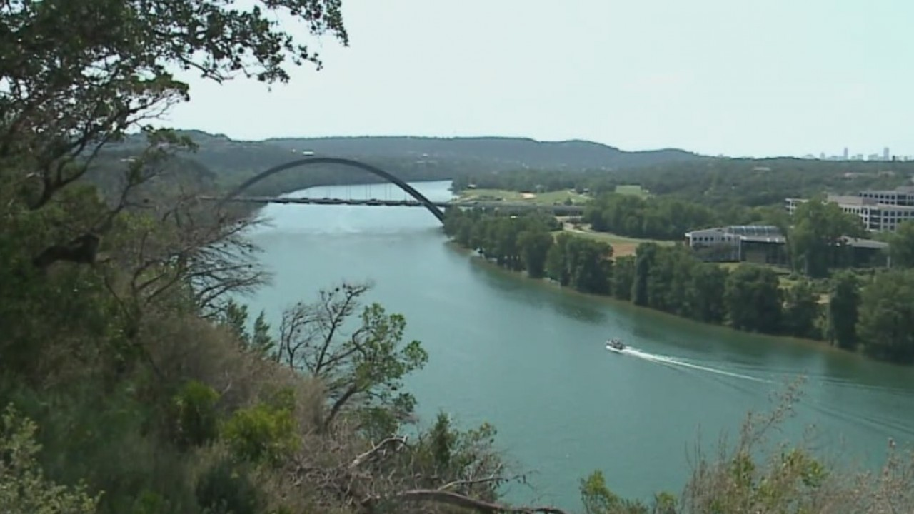 The view from a planned development near Loop 360