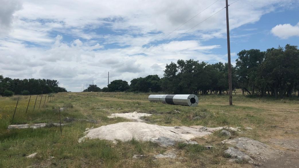 Marble Falls utility pole