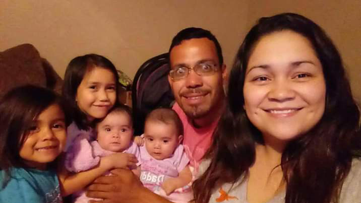bernal and his family