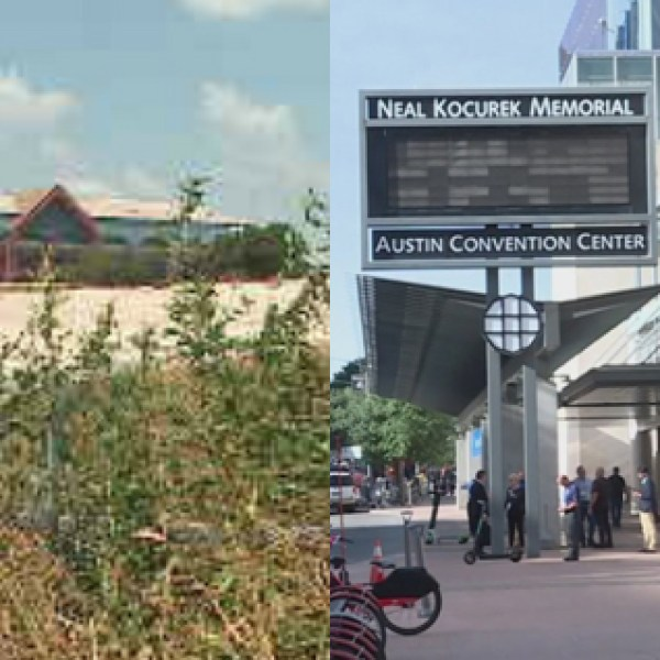 The Travis County Expo Center and Austin Convention Center (KXAN Photo)