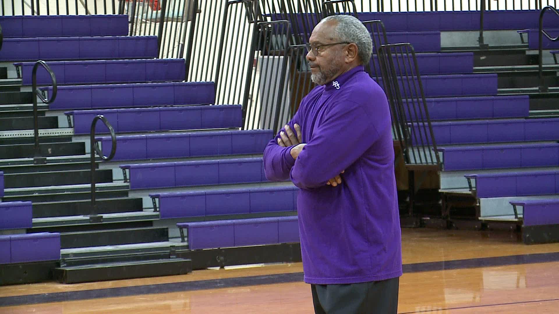 Freddie Roland LBJ basketball