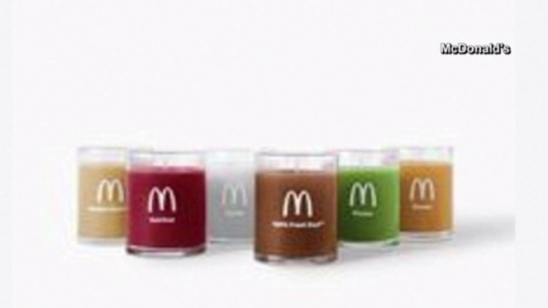 McDonald's candles (McDonald's Photo)