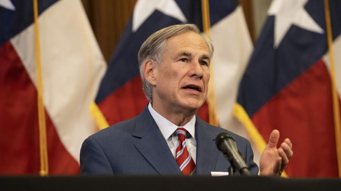 Gov. Greg Abbott: Texas businesses will be forbidden from requiring proof of vaccination