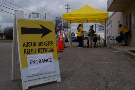 Courtesy: Austin Disaster Relief Network