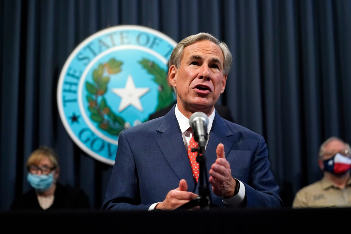 Gov. Abbott bans government-issued vaccine passports in Texas