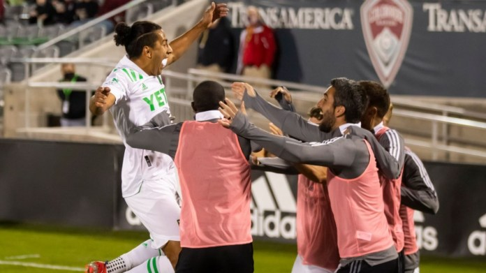 Austin FC wins first ever match, 3-1, over Colorado