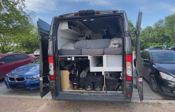 Man sells home, buys RV to take 'work from home' on the road and to Zilker Park