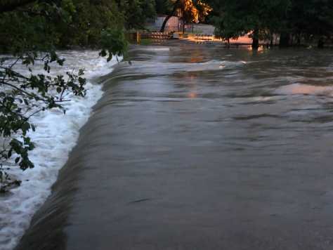 Low water crossing in Round Rock