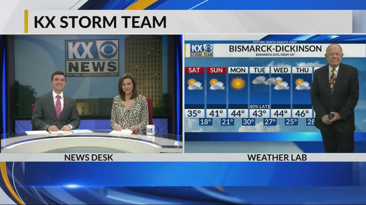 KX Storm Team Evening Forecast 4-13