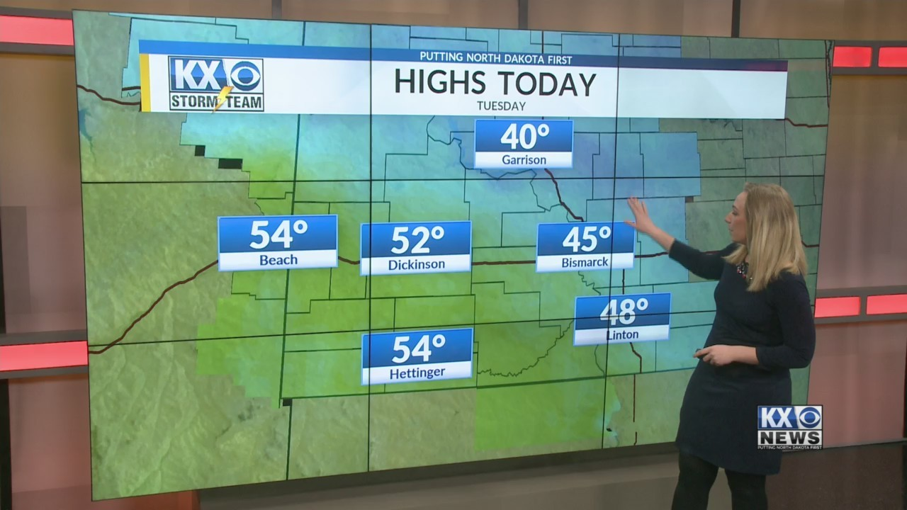 Tuesday's One Minute Forecast 4/10