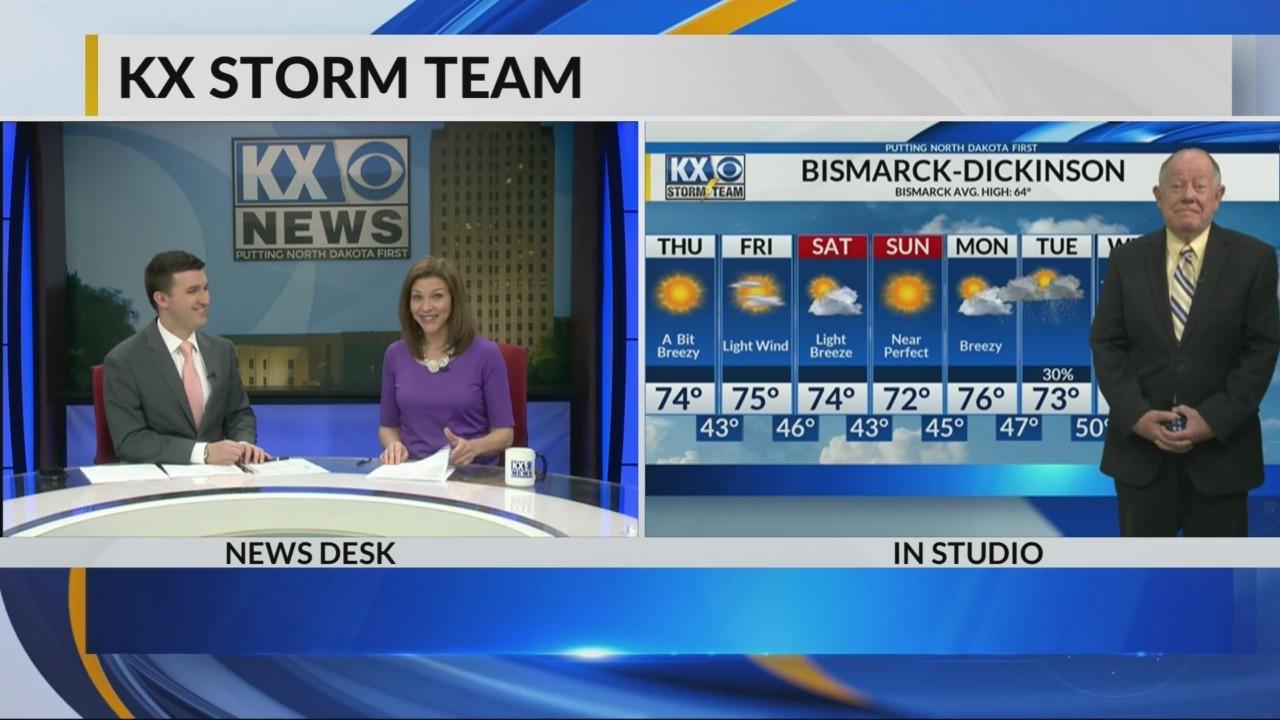 KX Storm Team Evening Forecast 5-2