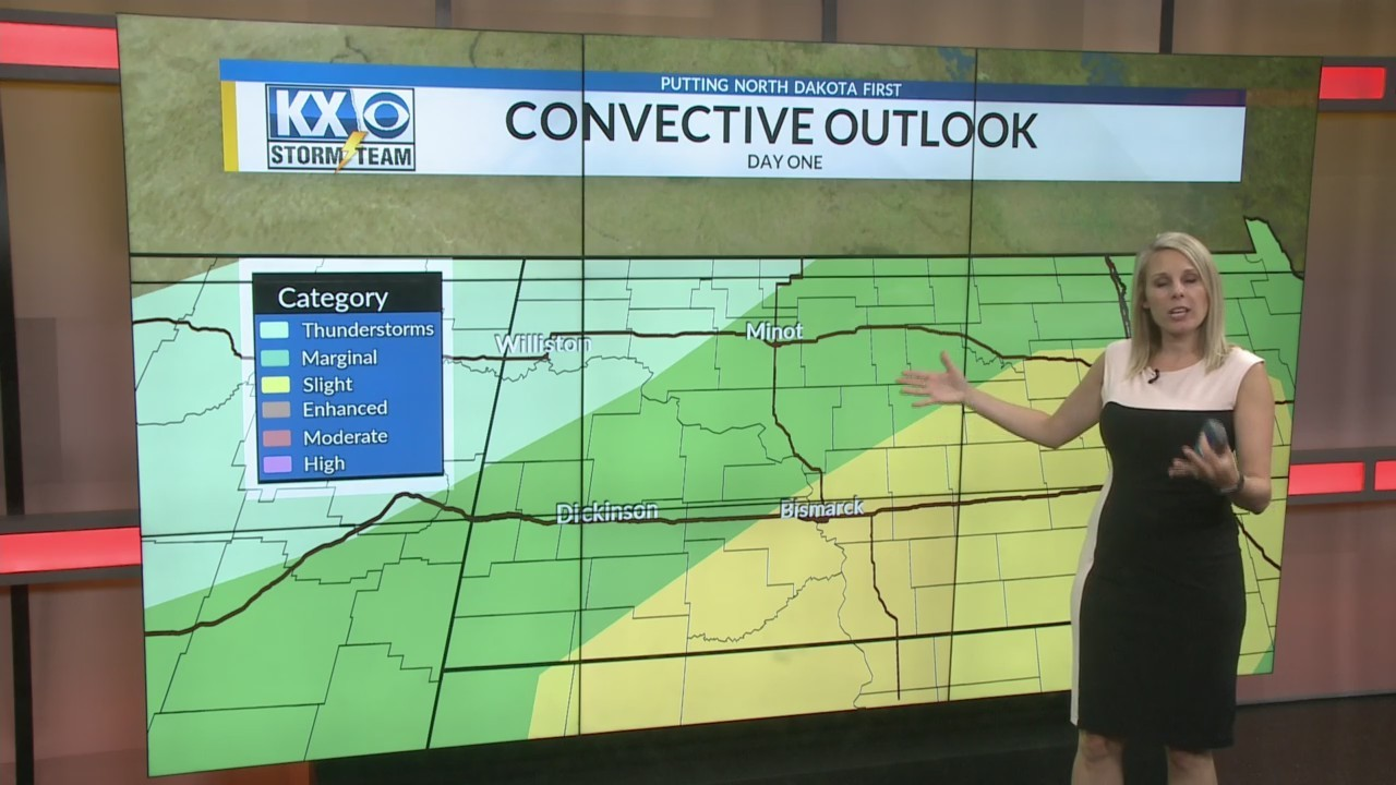 Amber's Tuesday Morning One Minute Forecast 6/5
