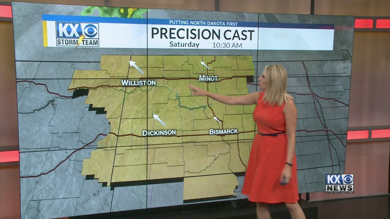 Amber's Friday Morning One Minute Forecast 7/20