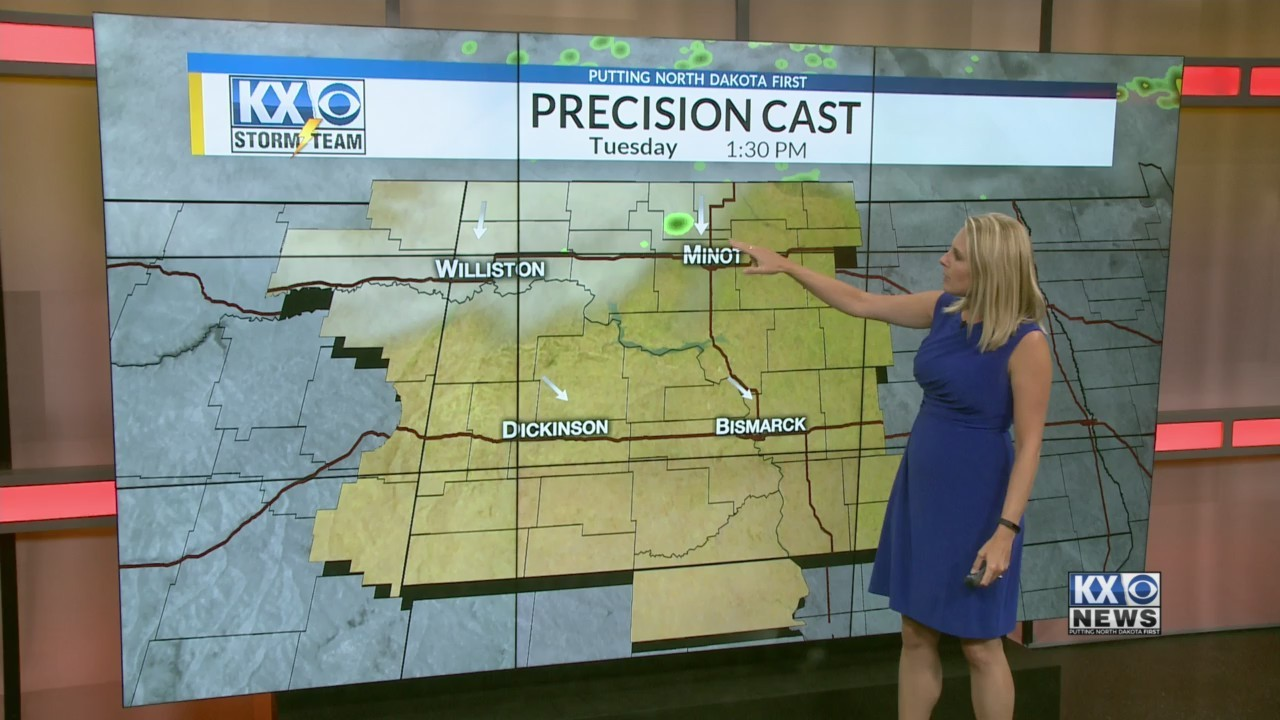 Amber's Tuesday Morning One Minute Forecast 7/31