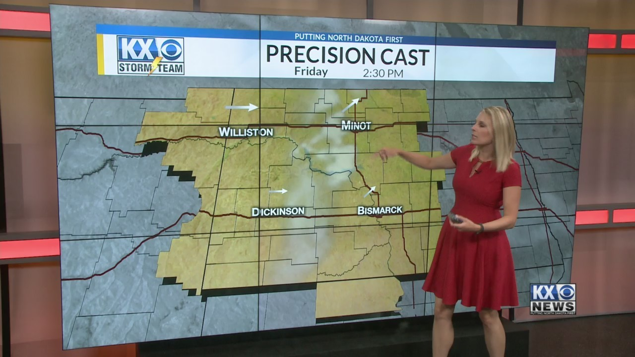 Amber's Friday Morning One Minute Forecast 8/3