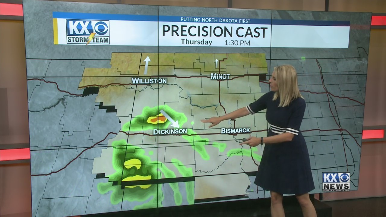 Amber's Thursday Morning One Minute Forecast 8/23