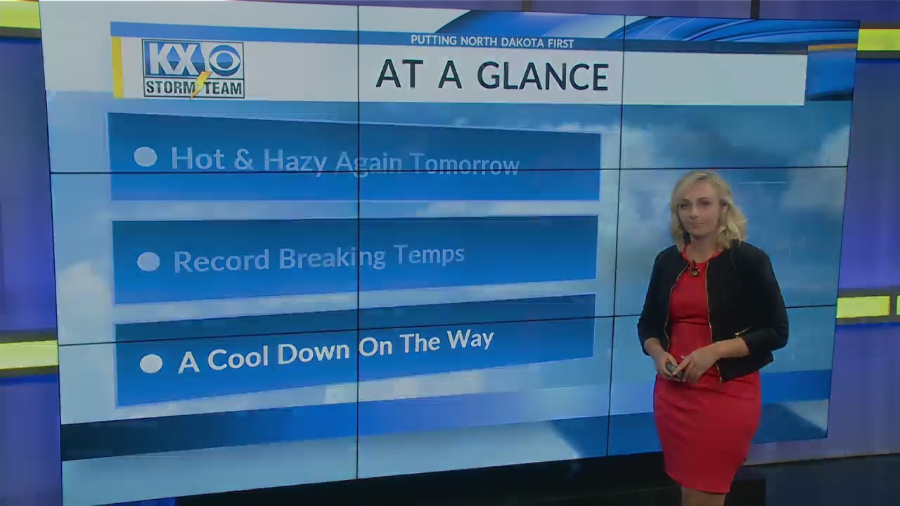 Saturday's One Minute Forecast 8/11