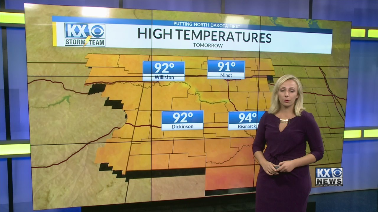 Tuesday's One Minute Forecast 8/7