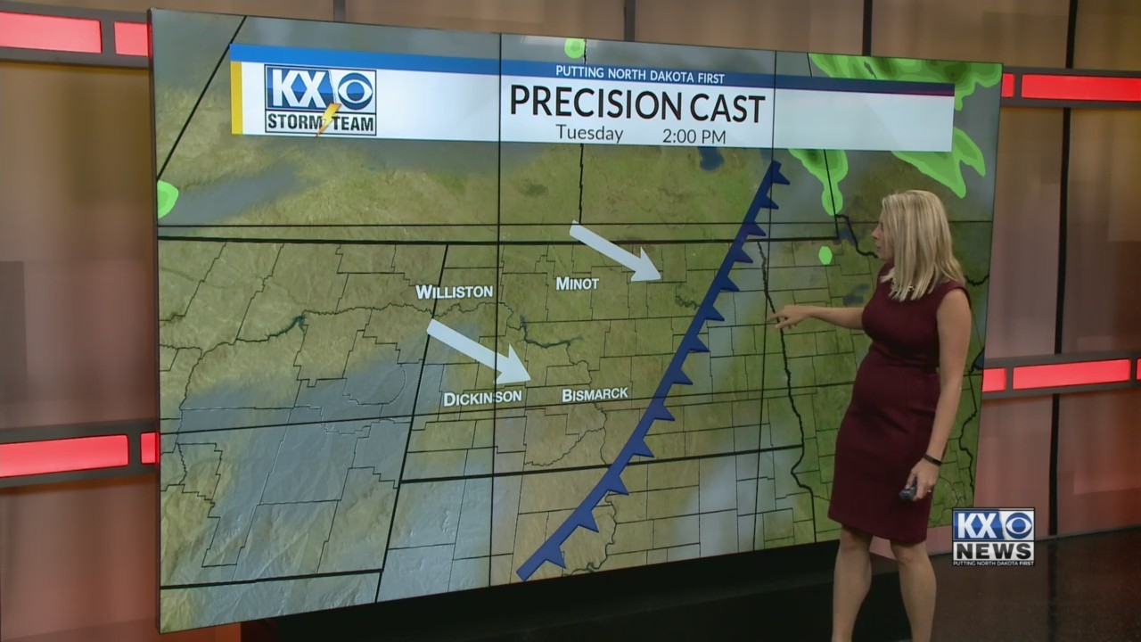 Amber's Monday Morning One Minute Forecast 9/10