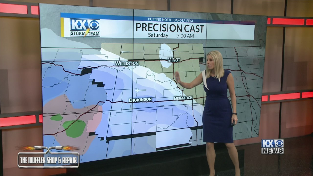 Amber's Friday Morning One Minute Forecast 11/30