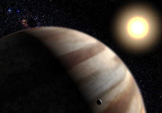 Hubble Space Telescope Detects Distant Planets Atmosphere