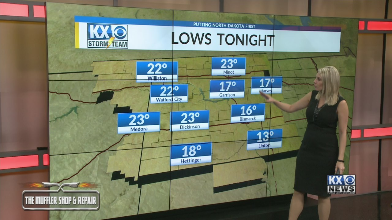Amber's Tuesday Morning One Minute Forecast 12/11