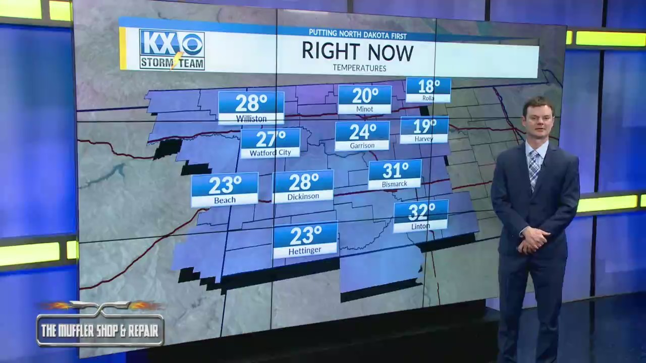 Robert's One Minute Forecast 12-22-18