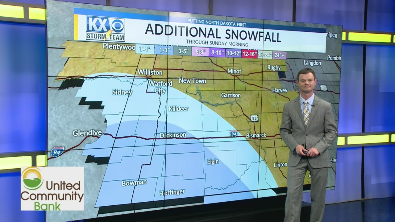 Robert's One Minute Forecast 5-18-19
