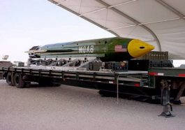 US Army drops biggest non-nuclear bomb in Afghanistan