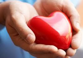 heart in hands - blood pressure